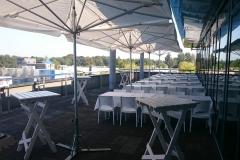 Diner opstelling design wit