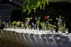 Bruiloft Eten van een lekkere tafel