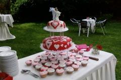 Taart voor bruiloft