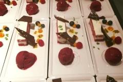 Dessert red velvet cake en meer