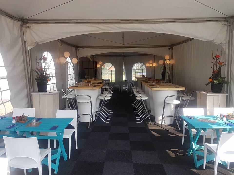 Diverse inrichting tent
