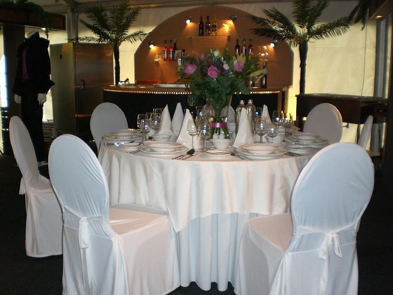 inrichting luxe diner