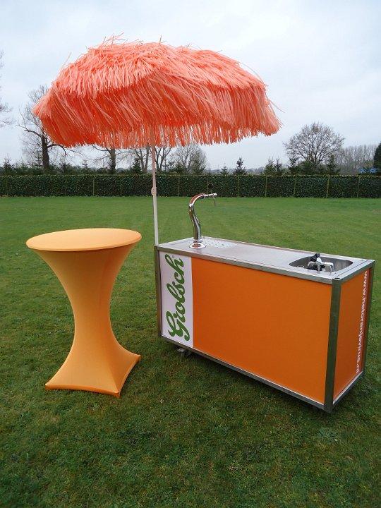 Oranje grolsch bar