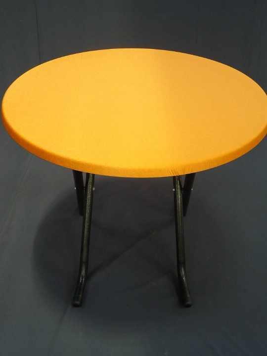 Terrastafel  met oranje topcover