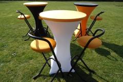De UITstatafel De THUISstafel De KEEPERSstatafel verhuur oranje EK 2012