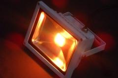 Ledbouwlamp oranje