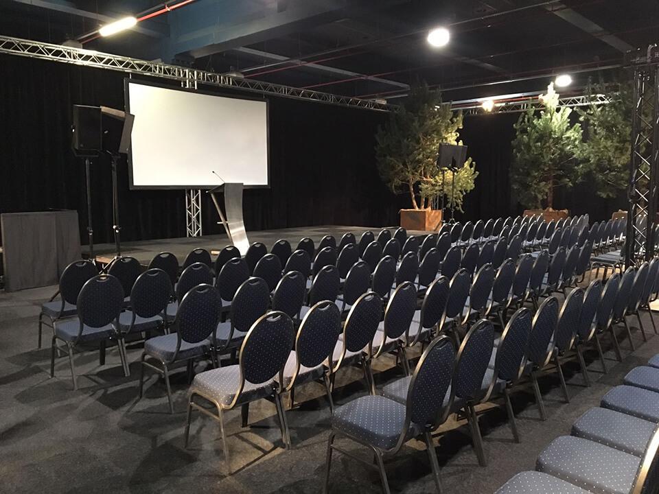 Stoelen voor conferences