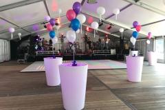 Verhuur verlichte statafels voor personeelsfeest in Utrecht
