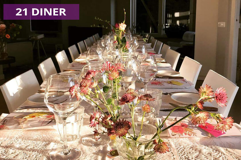 Particulier 21 diner - Party-Time
